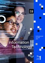 Cover of the UTS IT undergraduate course guide