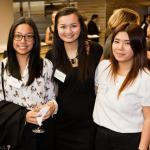 Mentees at the Lucy Mentoring Program Launch