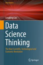 Cover of Data science thinking by Longbing Cao