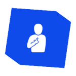 Icon - Person pointing at themself