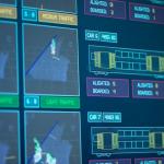 Computer data screen