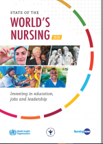 State of the World's Nursing Report Flyer