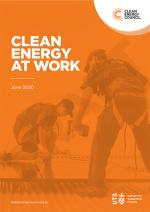 Report cover Clean Energy at Work