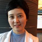 Nurse at World Health Organisation meeting