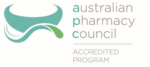Australian Pharmacy Council logo