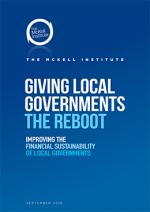 Cover of Giving Local Governments the Reboot report
