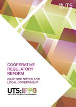 Practice note for cooperative regulatory reform in local government title page