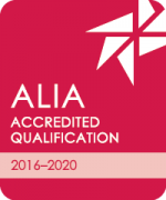 Logo of accreditation by the Australian Library and Information Association (ALIA)