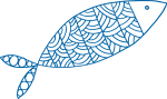 Fish graphic for the Valuing Coastal Fisheries project by UTS