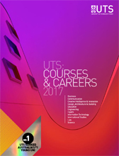 UTS Undergraduate courses and careers cover guide 2017