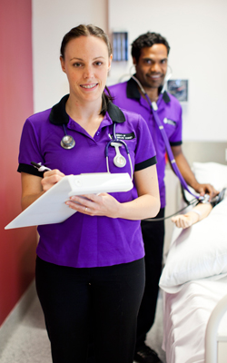 UTS Health student clinical practice uniform