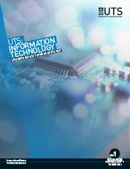 image of UTS IT UG course guide cover
