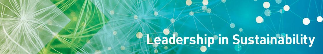 Leadership in sustainabillity