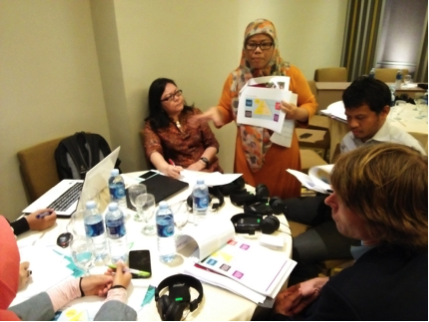 Workshop with Indonesian WASH practitioners