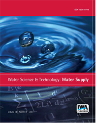 cover for Water Supply journal