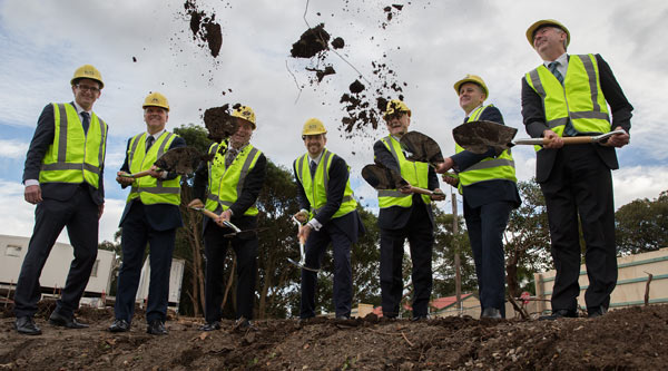 Construction starts at Moore Park