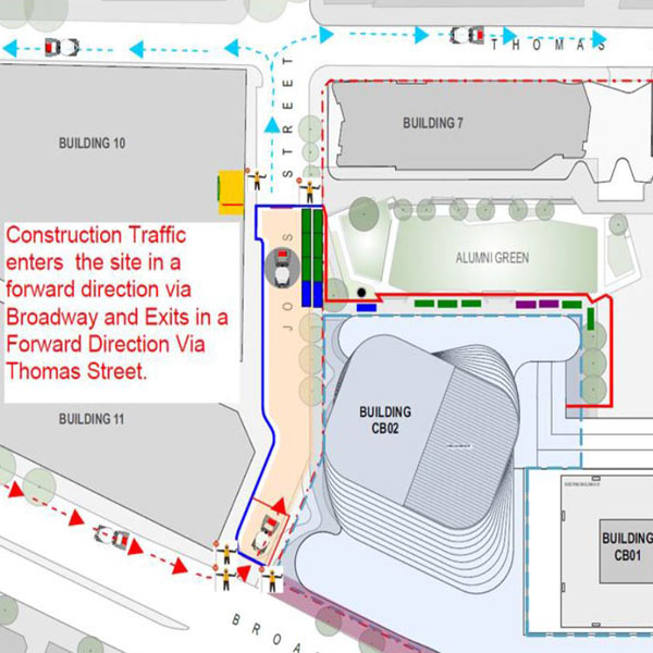 Building 2 construction traffic plan