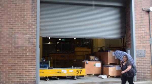 Building 15 loading dock