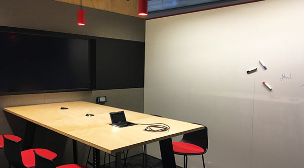 Teamwork area in FEIT HDR workspace