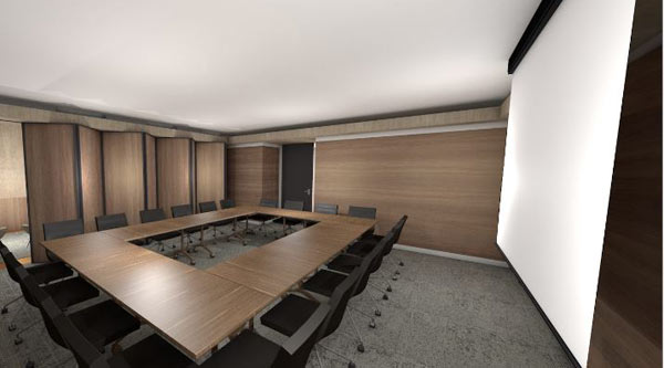 Tower level 18 conference room