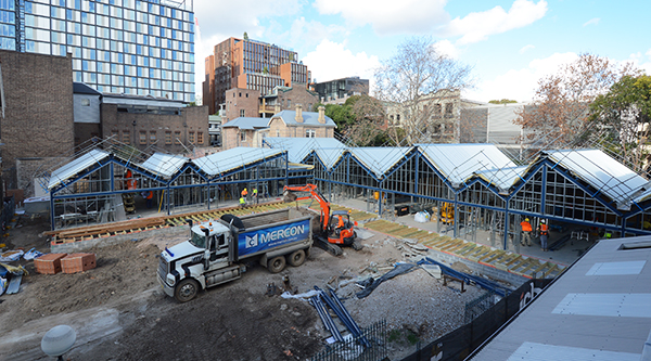 New Blackfriars Children's Centre under construction