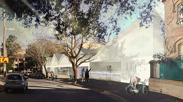 Artist's impression of the new Blackfriars Children's Centre