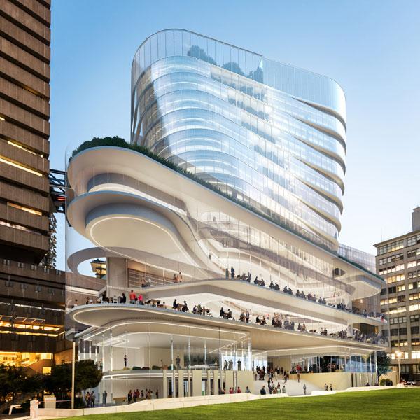 Artist impression of Building 2
