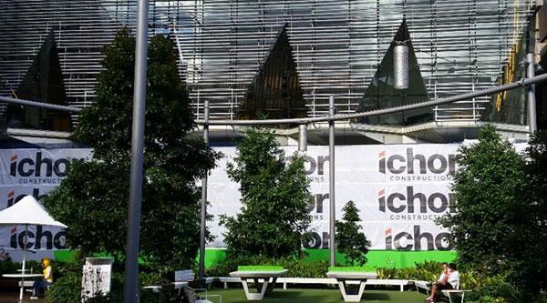 Chancellery hoardings