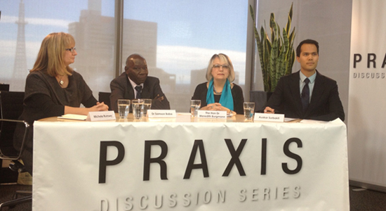 WHO CC Praxis discussion series